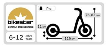 BIKESTAR® Premium Kinderroller 12er Sport Edition 1