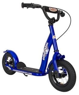 BIKESTAR® Premium Kinderroller 10er Classic Modell Abenteuerlich Blau 8