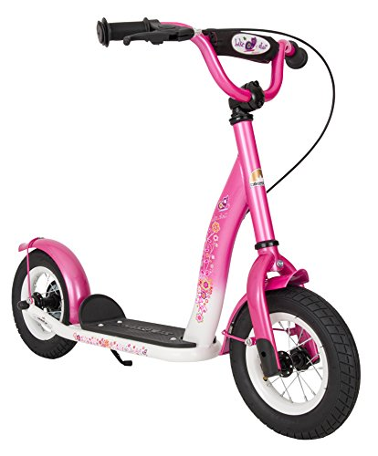 bikestar premium kinderroller flamingo pink diamant wei. Black Bedroom Furniture Sets. Home Design Ideas