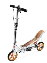 East Side Records Space Scooter X580 weiß/orange, 86007 4