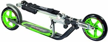 Hudora Roller Big Wheel 205 schwarz/grün 14695/01 4