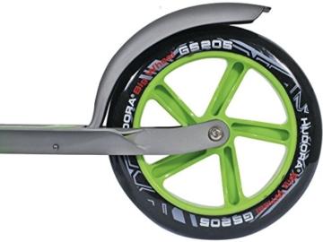 Hudora Roller Big Wheel 205 schwarz/grün 14695/01 6