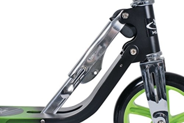 Hudora Roller Big Wheel 205 schwarz/grün 14695/01 2