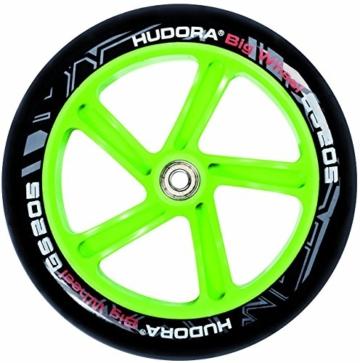 Hudora Roller Big Wheel 205 schwarz/grün 14695/01 3