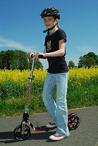 Hudora Roller- Big Wheel RX 205 schwarz/rot 14724
