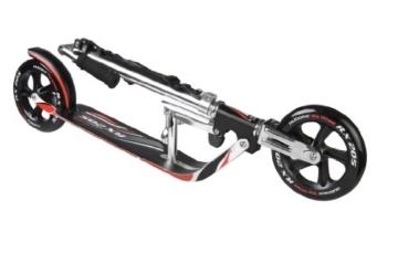 Hudora Roller- Big Wheel RX 205 schwarz/rot 14724 Klappmechanismus