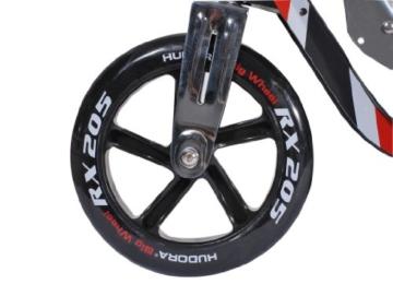 Hudora Roller- Big Wheel RX 205 schwarz/rot 14724 7