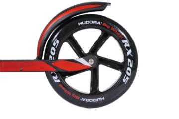 Hudora Roller- Big Wheel RX 205 schwarz/rot 14724 5