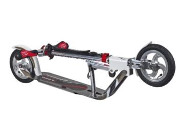 Hudora Big Wheel Air GS 205 Roller, silber/weiß 14005 6