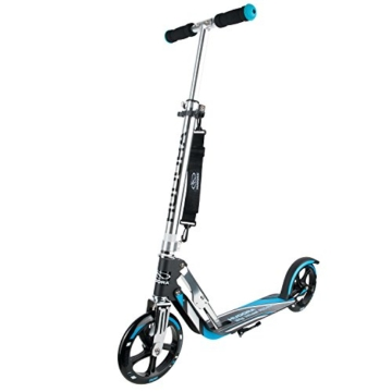 Hudora Big Wheel RX-Pro 205 Roller, schwarz/blau, 14709 -