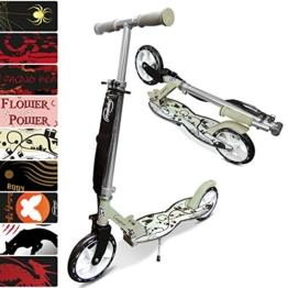 Physionics® Scooter Roller mit Cityrollen in verschiedenen Designs 3